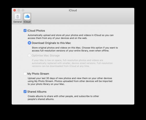 Apple Photos iCloud